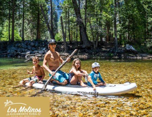 Turismo rural con niños en Las Lagunas de Ruidera.
